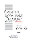 American Book Trade Directory, 1995-96