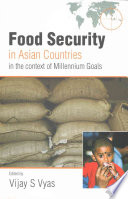 Food Security In Asian Countries In The Context Of Millennium Goals