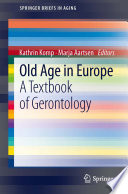 Old Age In Europe Book