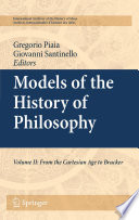 Read Online Models of the History of Philosophy For Free