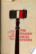 The Italian Legal System