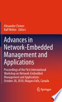 Advances in Network Embedded Management and Applications Book