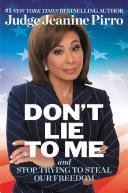 Don't Lie to Me Pdf/ePub eBook