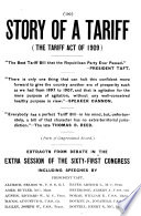 Story Of A Tariff The Tariff Act Of 1909