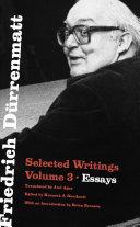 Friedrich Dürrenmatt [Pdf/ePub] eBook