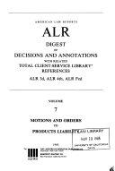 American Law Reports Book PDF