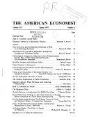 The American Economist