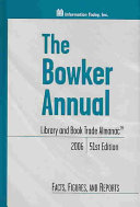The Bowker Annual Book