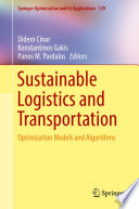 Sustainable Logistics and Transportation Book