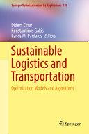 Sustainable Logistics and Transportation