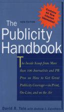 The Publicity Handbook  New Edition
