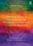 The Routledge Dictionary of Pronunciation for Current English Pdf/ePub eBook