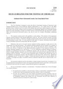 OECD Guidelines for the Testing of Chemicals  Section 2 Test No  219  Sediment Water Chironomid Toxicity Using Spiked Water