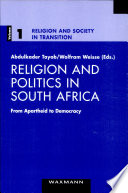 Religion And Politics In South Africa