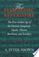 The First Golden Age of the Viennese Symphony Book PDF