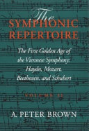 The First Golden Age of the Viennese Symphony