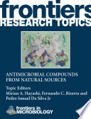 Antimicrobial compounds from natural sources