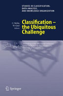 Pdf Classification - the Ubiquitous Challenge