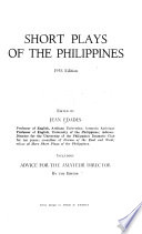 Short Plays of the Philippines
