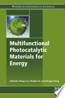 Multifunctional Photocatalytic Materials For Energy Book PDF