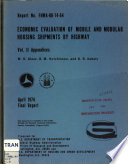 Economic evaluation of mobile and modular housing shipments by highway