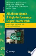 All About Maude   A High Performance Logical Framework Book