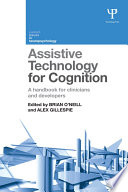 Assistive Technology for Cognition