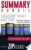 SUMMARY BUNDLE   Measure What Matters