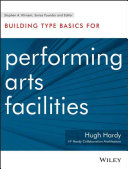 Building Type Basics For Performing Arts Facilities Book PDF
