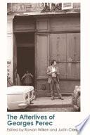 Afterlives of Georges Perec