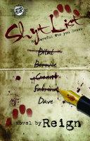 Shyt List Book