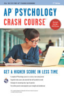 AP® Psychology Crash Course Book + Online