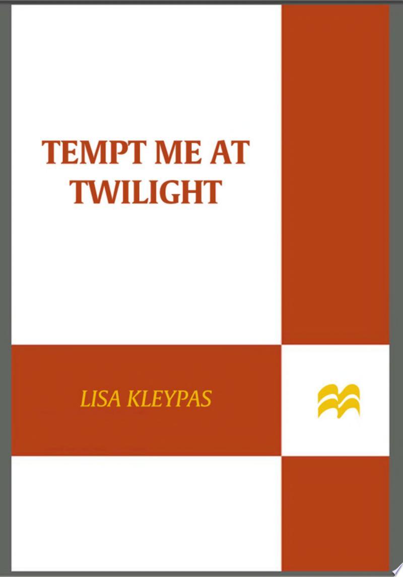 Tempt Me at Twilight banner backdrop