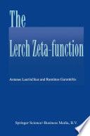 The Lerch zeta-function