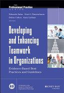 Developing and Enhancing Teamwork in Organizations