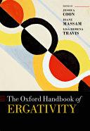 The Oxford Handbook of Ergativity Pdf/ePub eBook