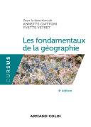 Pdf Les fondamentaux de la géographie - 4e éd. Telecharger