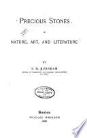 Precious stones in nature, art, and literature