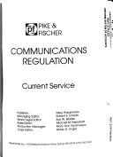 Communications Regulation Book