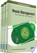 Waste Management  Concepts  Methodologies  Tools  and Applications