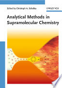 Analytical Methods In Supramolecular Chemistry Book PDF