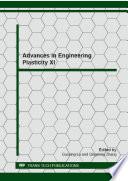 Advances In Engineering Plasticity Xi Book PDF