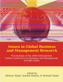 Issues in Global Business and Management Research  Proceedings of the 2008 International Online Conference on Business and Management  IOCBM 2008