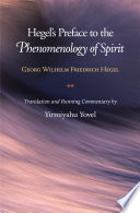 Hegel S Preface To The Phenomenology Of Spirit