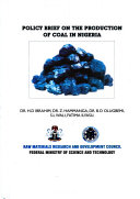 Policy Brief on the Production of Coal in Nigeria