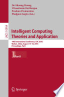 Intelligent Computing Theories And Application Book PDF