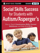 Social Skills Success for Students with Autism   Asperger s