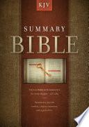 Summary Bible  KJV Edition