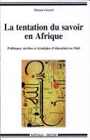 Pdf La tentation du savoir en Afrique Telecharger