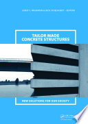 Tailor Made Concrete Structures